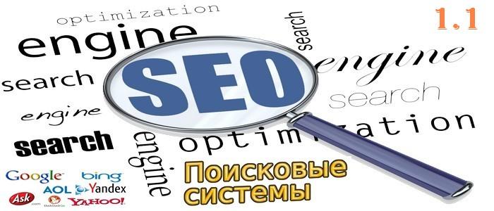 Поисковые системы сети интернета, общая информация