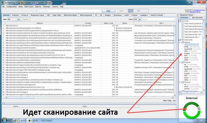 Программа для прогон сайта
