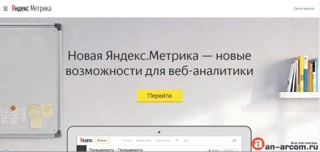 Яндекс метрика установить счётчик на сайт