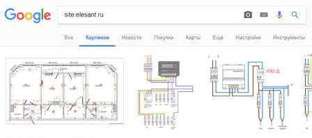 Картинки сайта в поиске Google