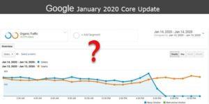 Январское обновление Google